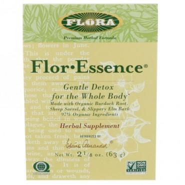 Flora, フロール・エッセンス、全身ジェントル・デトックス、2 1/8 オンス(63 g)