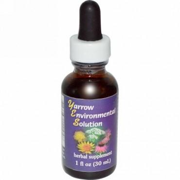 Flower Essence Services, ヤロウエンバイロメンタルソリューション、1液量オンス (30 ml)