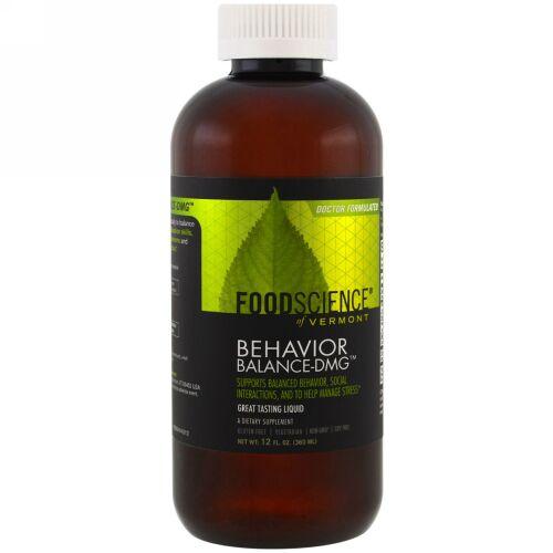 FoodScience, 行動のバランス - DMG液体(Behavior Balance-DMG Liquid), 12液量オンス(360 ml) (Discontinued Item)