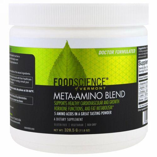 FoodScience, メタアミノブレンド、11.6 オンス (328.5 g)