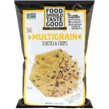 Food Should Taste Good, マルチグレイン トルティーヤチップス、155g(5.5オンス) (Discontinued Item)