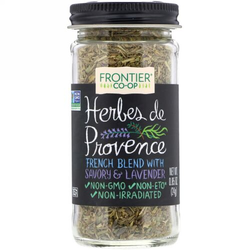 Frontier Natural Products, Herbes De Provence, French Blend with Savory & Lavender , 0.85 oz (24 g) (Discontinued Item)