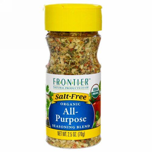 Frontier Natural Products, オーガニック・多目的調味料ブレンド、2.5オンス(70g)