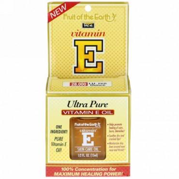 Fruit of the Earth, Ultra Pure Vitamin E Oil, 28,000 IU, 1/2 fl oz (15 ml) (Discontinued Item)