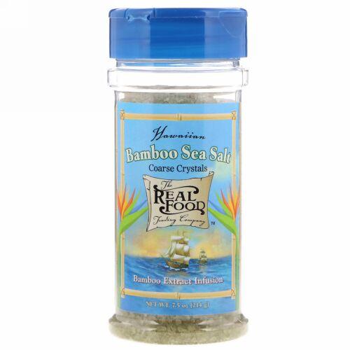 FunFresh Foods, Hawaiian Bamboo Sea Salt, 7.5 oz (214 g) (Discontinued Item)