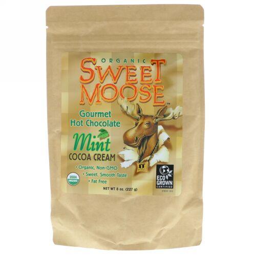 FunFresh Foods, Sweet Moose, Gourmet Hot Chocolate, Mint Cocoa Cream, 8 oz (227 g) (Discontinued Item)