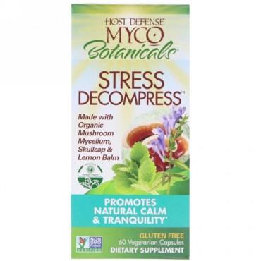 Fungi Perfecti, マイコボタニカル ストレス緩和 植物性カプセル60粒