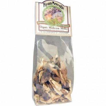 FungusAmongUs, オーガニック マッシュルームメドレー、 1 oz (28 g) (Discontinued Item)