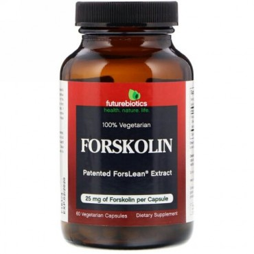 FutureBiotics, フォースコリン、 25 mg、 60 植物性カプセル