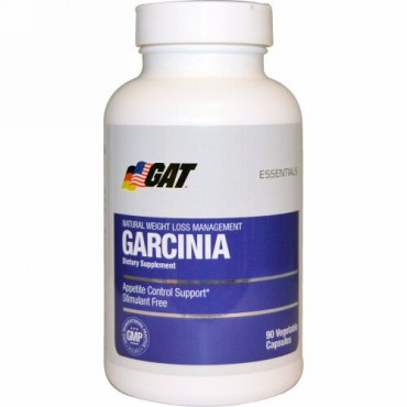 GAT, エッセンシャル、 ガルシニア、 90 植物性カプセル (Discontinued Item)