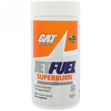 GAT, JetFUEL Superburn, 120 Oil-Infused Capsules