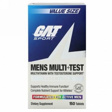 GAT, メンズマルチ+テスト、150錠
