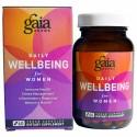Gaia Herbs, デイリーウェルビーイング、 女性用、 60 植物性カプセル (Discontinued Item)