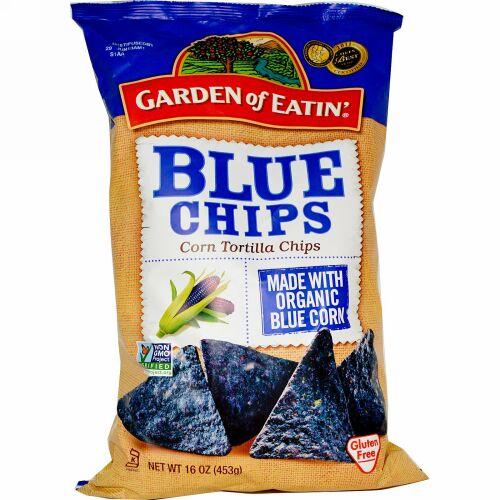 Garden of Eatin', コーントルティーヤチップス、 ブルーチップス、 16オンス (453 g)