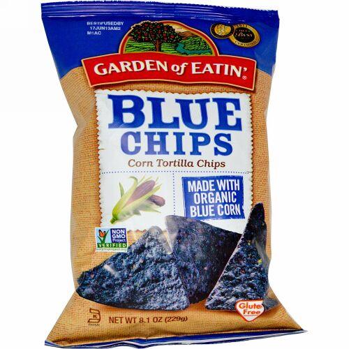 Garden of Eatin', コーントルティーヤチップス、ブルーチップス、8.1 オンス (229 g)