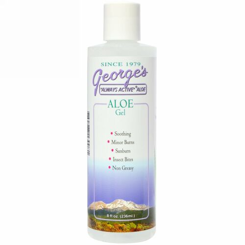 George's Aloe Vera, アロエジェル, 8 液量オンス (236 ml) (Discontinued Item)