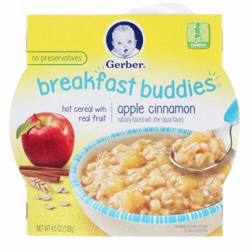 Gerber, Breakfast Buddies, Apple Cinnamon, Toddler, 4.5 oz (128 g) (Discontinued Item)