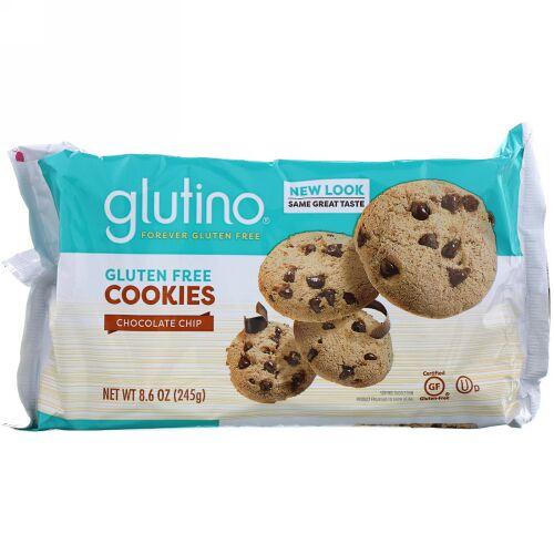 Glutino, グルテンフリークッキー、チョコレートチップ、8.6オンス (245 g) (Discontinued Item)