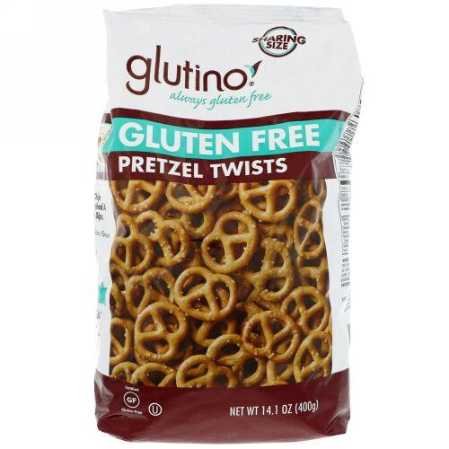 Glutino, グルテンフリープレッツェルツイスト、14.1オンス (400 g) (Discontinued Item)