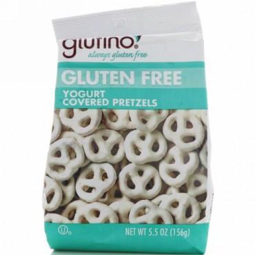 Glutino, ヨーグルトカバードプレッツェル、 グルテンフリー、 5.5オンス (156 g) (Discontinued Item)