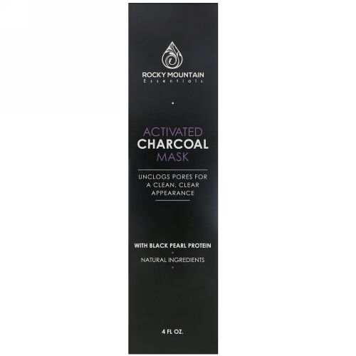 Gold Mountain Beauty, Activated Charcoal Mask, 4 fl oz (Discontinued Item)