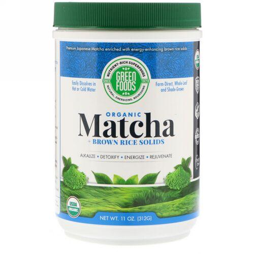 Green Foods, 儀式用抹茶エネルギーブレンド、11 oz (312 g)