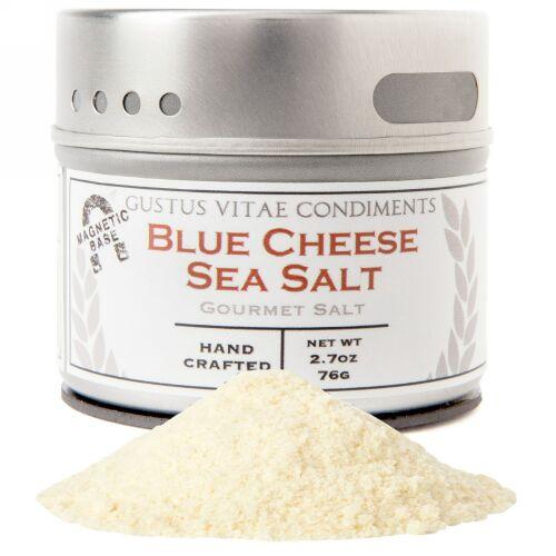 Gustus Vitae, Gourmet Salt, Blue Cheese Sea Salt, 2.7 oz (76 g) (Discontinued Item)