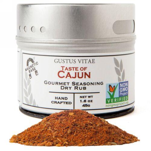 Gustus Vitae, Gourmet Seasoning, Taste of Cajun, 1.6 oz (45 g) (Discontinued Item)