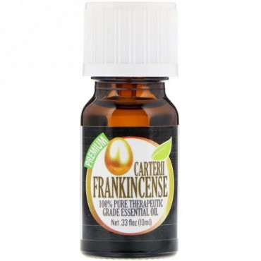 Healing Solutions, 100% Pure Therapeutic Grade Essential Oil, Carterii Frankincense, 0.33 fl oz (10ml) (Discontinued Item)