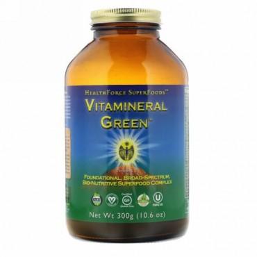 HealthForce Superfoods, Vitemineral Green(ビタミネラルグリーン)、バージョン5.5、300g(10.6oz)