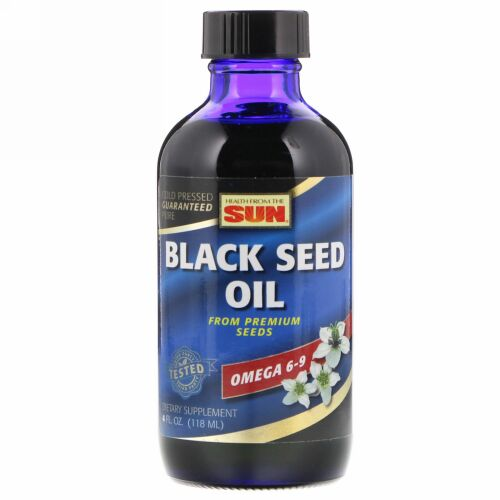 Health From The Sun, Black Seed Oil, 4 fl oz (118 ml) (Discontinued Item)