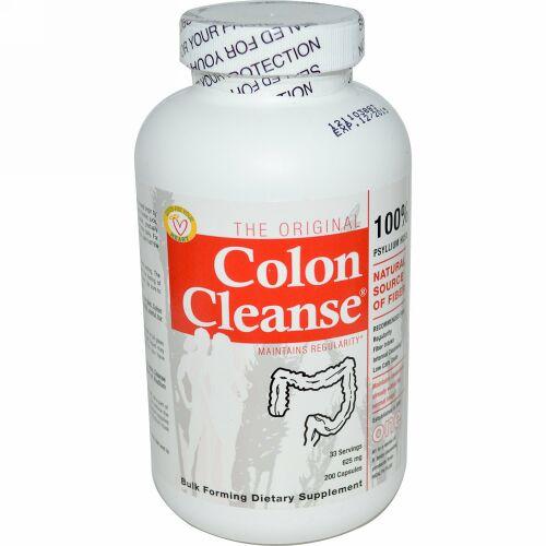 Health Plus, オリジナル・コロンクレンズ ( 大腸)、1、625mg、200カプセル