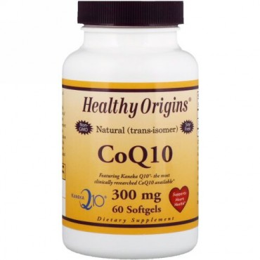 Healthy Origins, CoQ10、カネカQ10、300mg、ソフトゲル60個 (Discontinued Item)