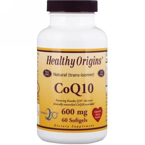 Healthy Origins, CoQ10 (カネカ Q10®), 600 mg, ソフトジェル 60 粒 (Discontinued Item)