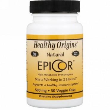Healthy Origins, エピコ(EpiCor), 500 mg, 30粒(ベジタブルカプセル) (Discontinued Item)