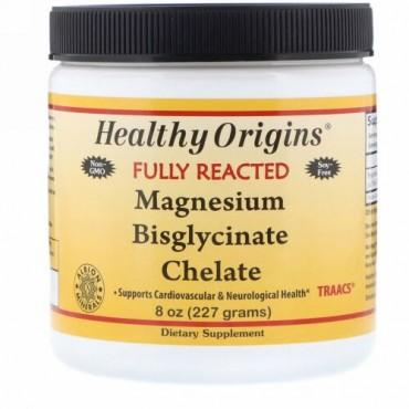Healthy Origins, キレート化マグネシウムビスグリシン、8 oz (227 g) (Discontinued Item)
