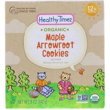 Healthy Times, オーガニック、クズウコンクッキー、メープル、12ヶ月以上、5 oz (142 g) (Discontinued Item)
