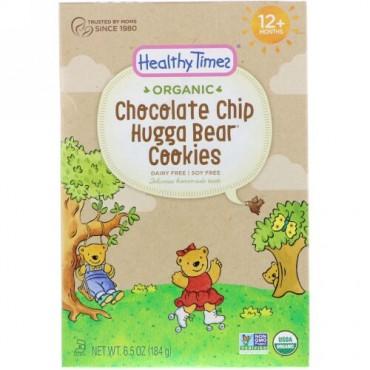 Healthy Times, オーガニック、ハガベアクッキー、チョコレートチップ、12ヶ月以上、6.5 oz (184 g) (Discontinued Item)