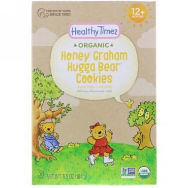 Healthy Times, オーガニック、ハガベアクッキー、ハニーグラハム、12ヶ月以上、6.5 oz (184 g) (Discontinued Item)