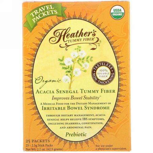 Heather's Tummy Care, タミーファイバー™, オーガニック, アカシアセネガル タミーファイバー, 1 包
