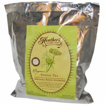 Heather's Tummy Care, Tummy Teas、オーガニック、フェンネル・ティー、カフェインフリー、16 oz (453 g)
