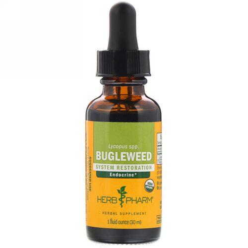 Herb Pharm, シロネ(Bugleweed), 1液量オンス(30 ml)