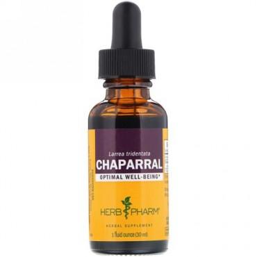 Herb Pharm, シャパラル(Chaparral), 1液量オンス(30 ml) (Discontinued Item)
