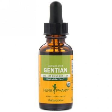 Herb Pharm, Gentian, 1 fl oz (30 ml) (Discontinued Item)