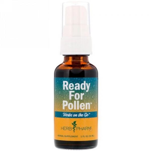 Herb Pharm, ハーブオンザゴー、花粉対策、1液量オンス (30 ml) (Discontinued Item)