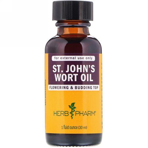 Herb Pharm, セントジョーンスワートオイル、 1液量オンス (30 ml)