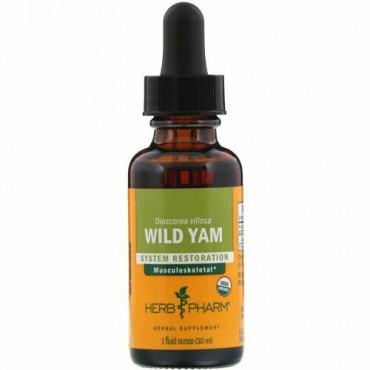 Herb Pharm, ワイルドヤム、 1液量オンス (29.6 ml)