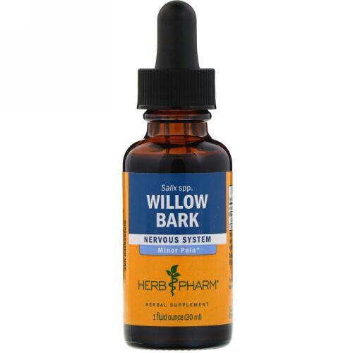 Herb Pharm, Willow Bark, 1 fl oz (29.6 ml) (Discontinued Item)
