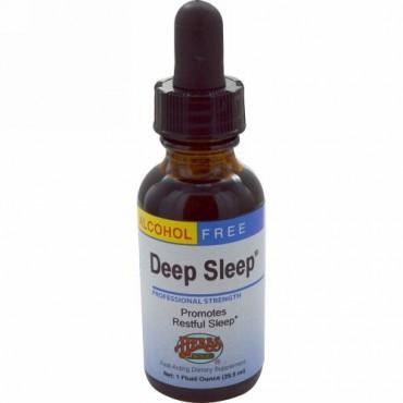 Herbs Etc., Deep Sleep、アルコールフリー、 1 液量オンス (29.5 ml)