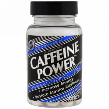 Hi Tech Pharmaceuticals, カフェインパワー、200 mg、100錠 (Discontinued Item)